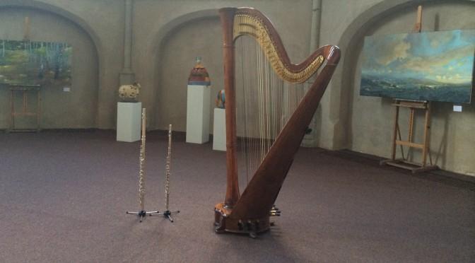 Fluit-harp: Marian en Liedewei